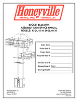 Product Manuals | Honeyville Metal, Inc