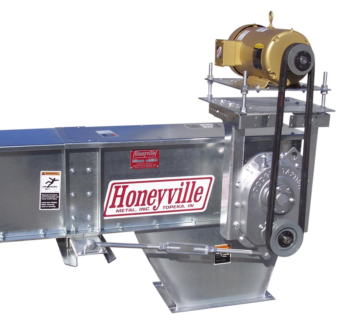 Horizontal Drag Conveyors Honeyville Metal Inc