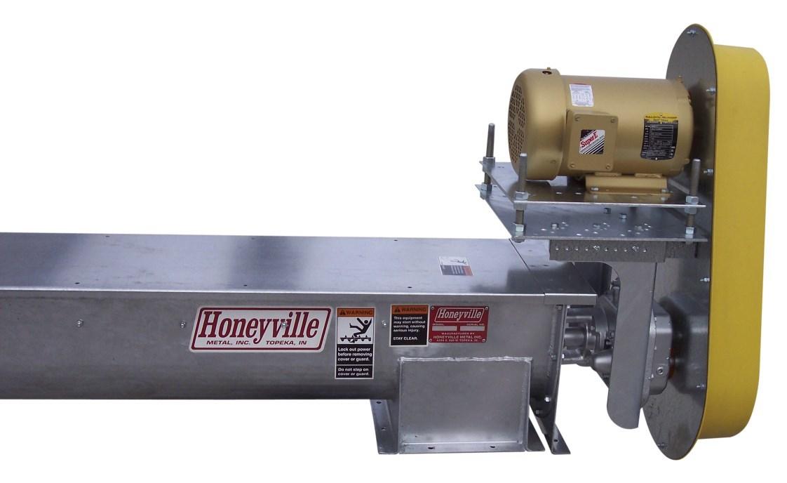 U-Trough Augers | Honeyville Metal, Inc