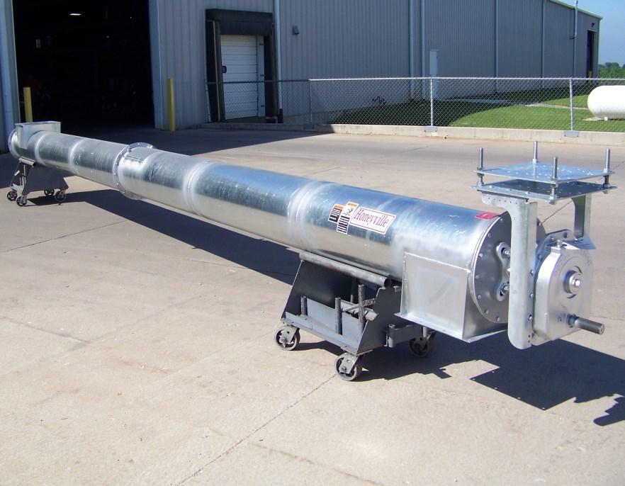 Tube Augers | Honeyville Metal, Inc