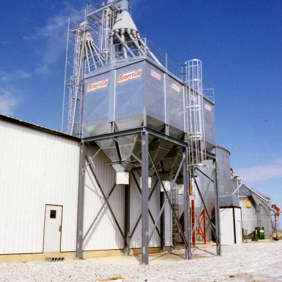 Square Bulk Feed Bins Honeyville Metal Inc