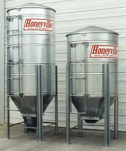 Storage Bins | Honeyville Metal, Inc